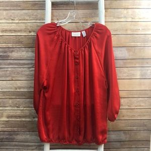 Chico's Long-Sleeve Blouse